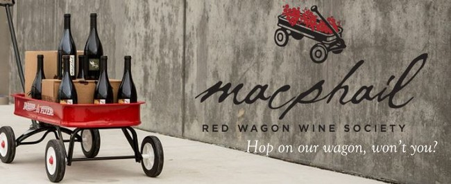 MacPhail Wines Red Wagon Wine Society
